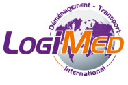 Logo logimed déménagement paca