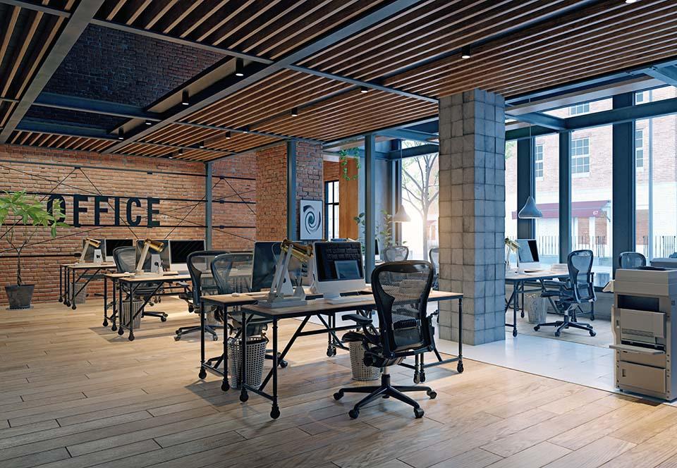 Flex office / bureau nomade, une solution pour économiser des m²